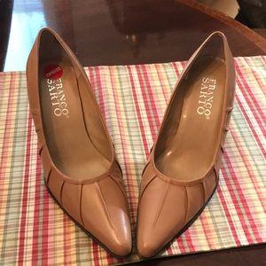 Cashew colored heels